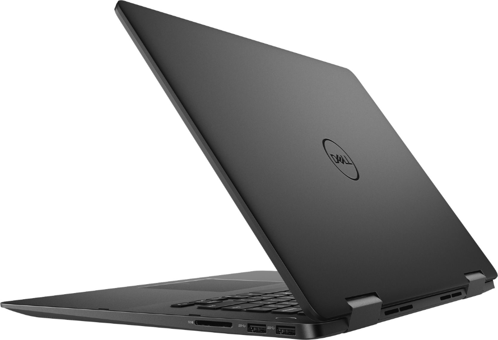 """Alt View Zoom 1. Dell - Geek Squad Certified Refurbished Inspiron 15.6"""" 4K Ultra HD Touch-Screen Laptop - Intel Core i7 - 16GB Memory- 512GB SSD - Black."""