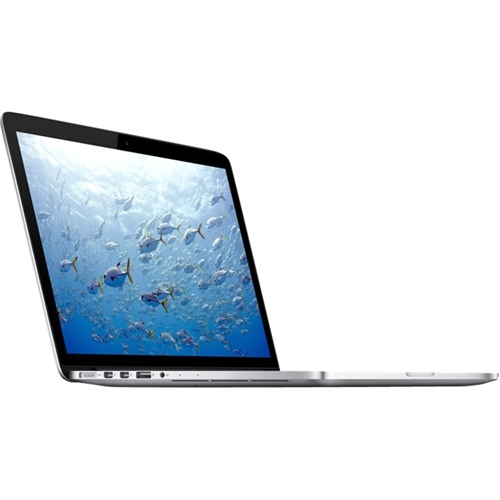 "Left Standard. Apple - MacBook Pro 13.3"" Pre-Owned Laptop - Intel Core i5 - 16GB Memory - 320GB Hard Drive - Silver."