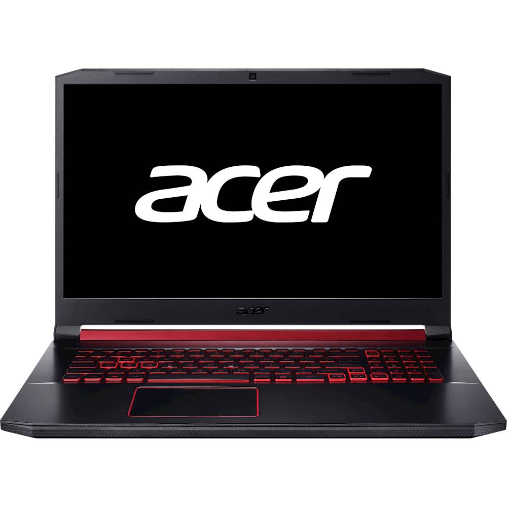 "Front Zoom. Acer - Nitro 5 17.3"" Refurbished Gaming Laptop - Intel Core i5 - 8GB Memory - NVIDIA GeForce GTX 1650 - 512GB Solid State Drive - Obsidian Black."