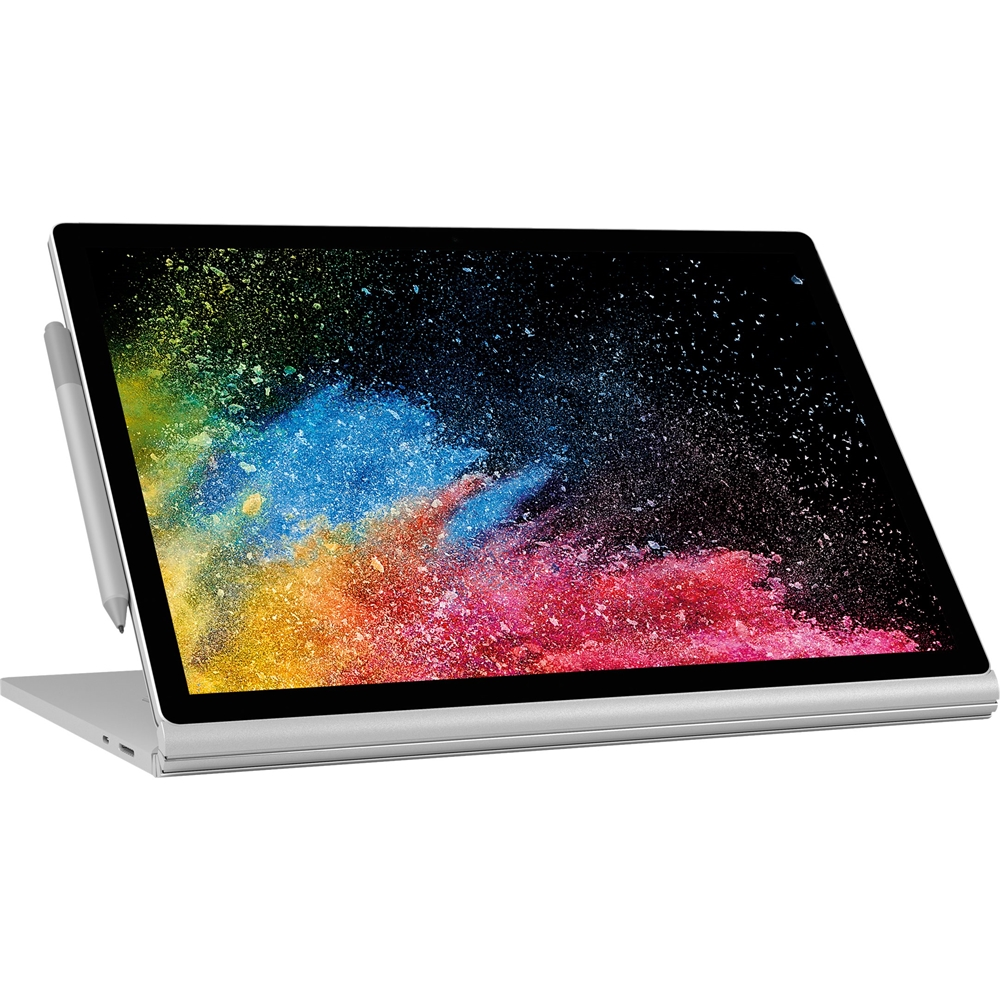 """Alt View Zoom 11. Microsoft - Surface 2-in-1 13.5"""" Refurbished Touch-Screen Laptop Intel Core i7 8GB Memory NVIDIA GeForce GTX 1050 256GB SSD - Silver."""