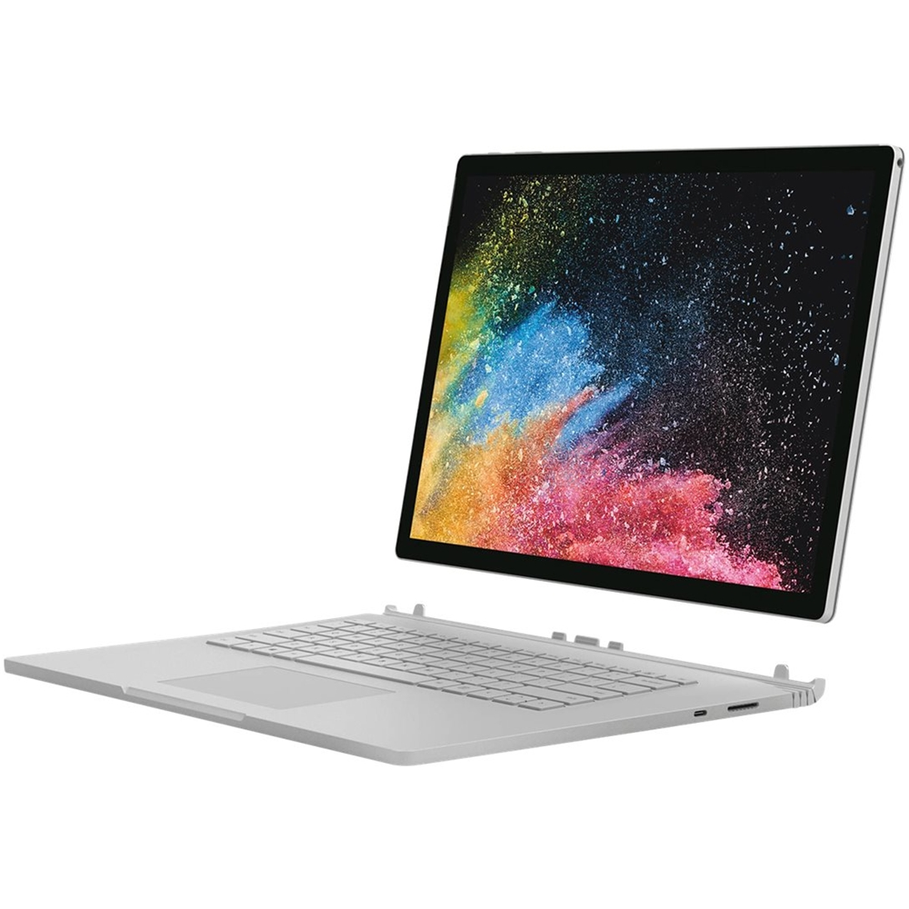 """Alt View Zoom 12. Microsoft - Surface 2-in-1 13.5"""" Refurbished Touch-Screen Laptop Intel Core i7 8GB Memory NVIDIA GeForce GTX 1050 256GB SSD - Silver."""