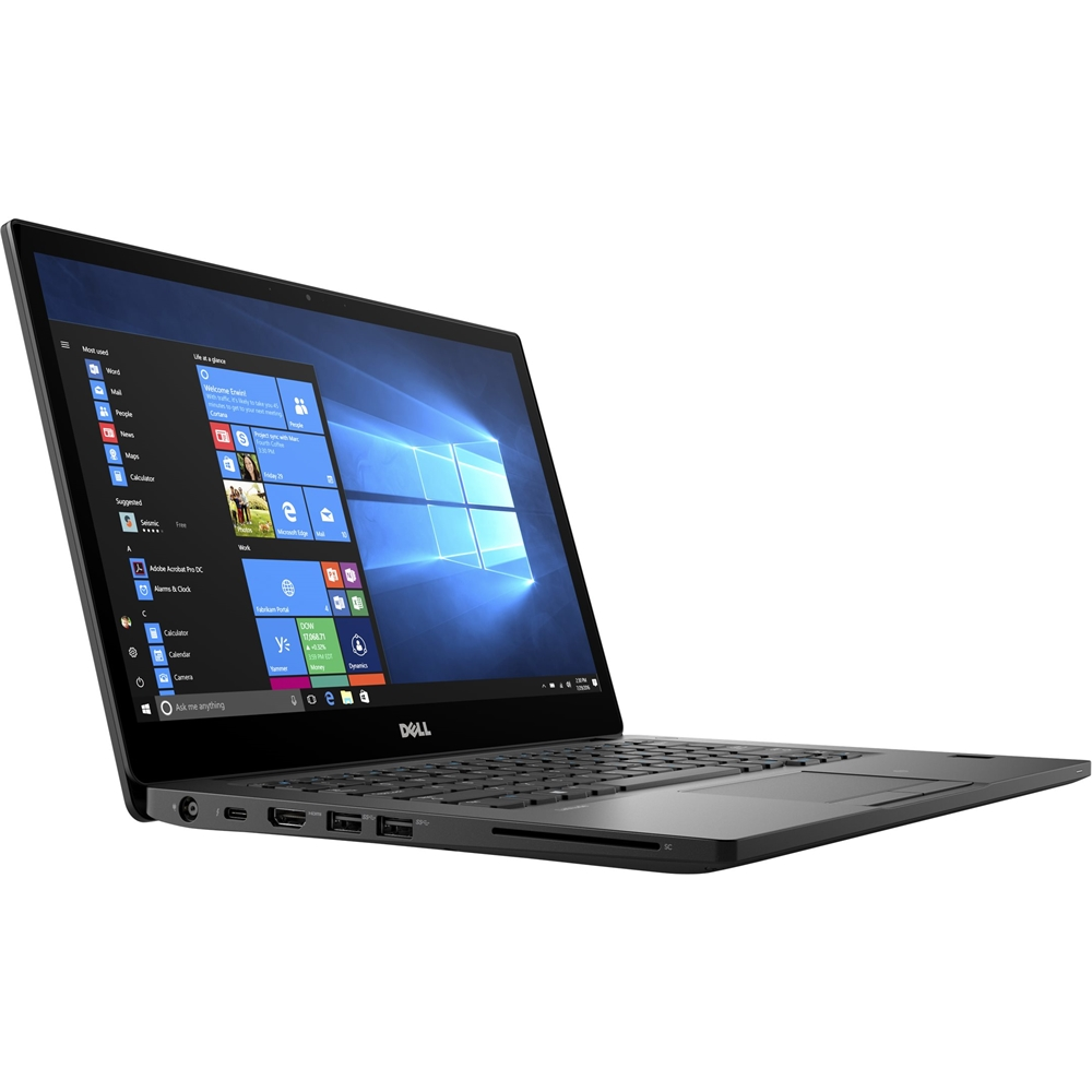 "Left Zoom. Dell - Latitude 14"" Laptop - Intel Core i5 - 4GB Memory - 128GB Solid State Drive - Black."