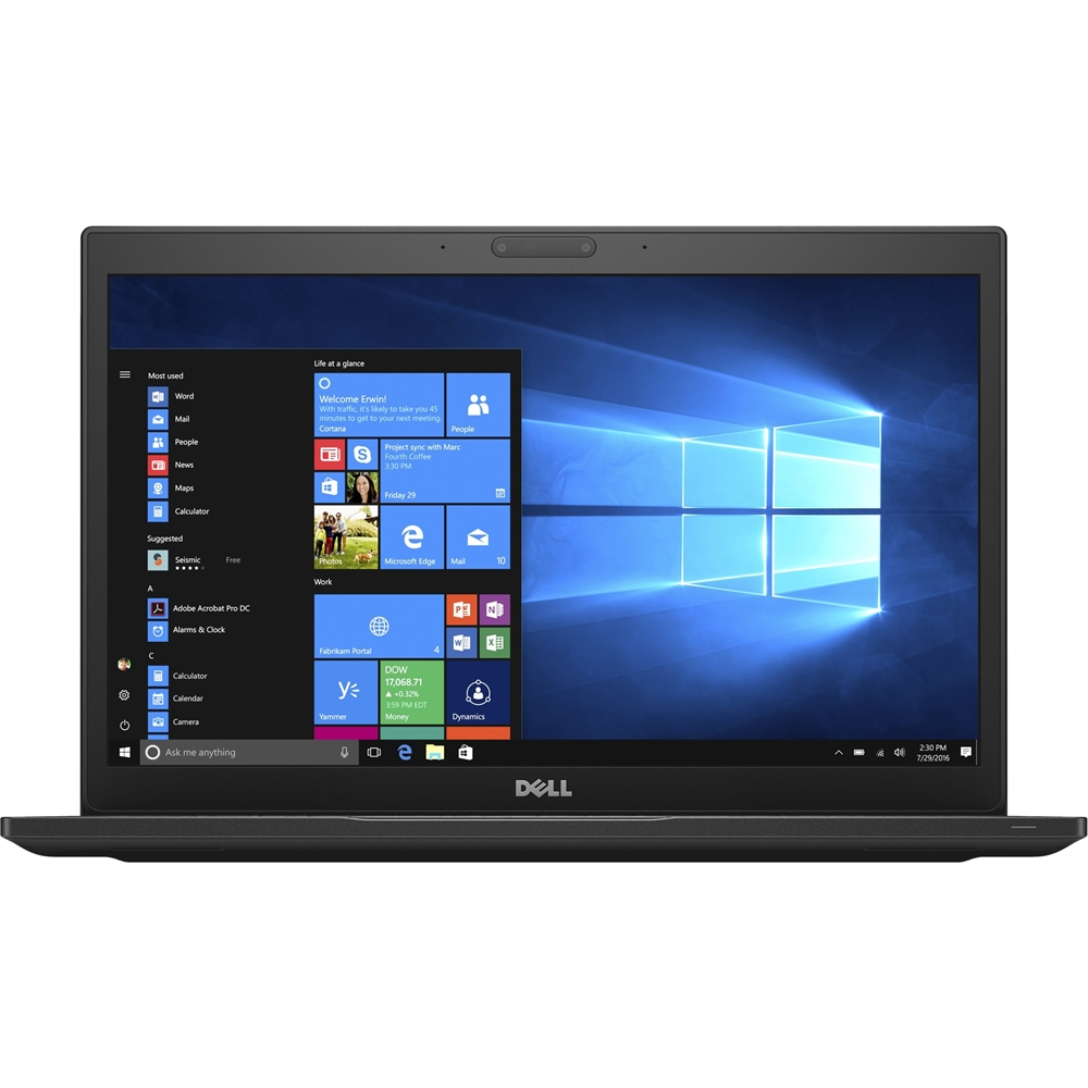 "Front Zoom. Dell - Latitude 14"" Laptop - Intel Core i5 - 4GB Memory - 128GB Solid State Drive - Black."