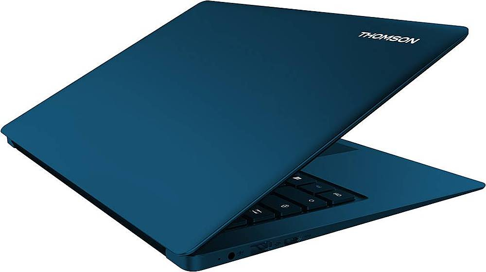 "Alt View Zoom 12. Thomson - NEO X 14.1"" Laptop - Intel Celeron - 4GB Memory - 64GB eMMC - Blue."