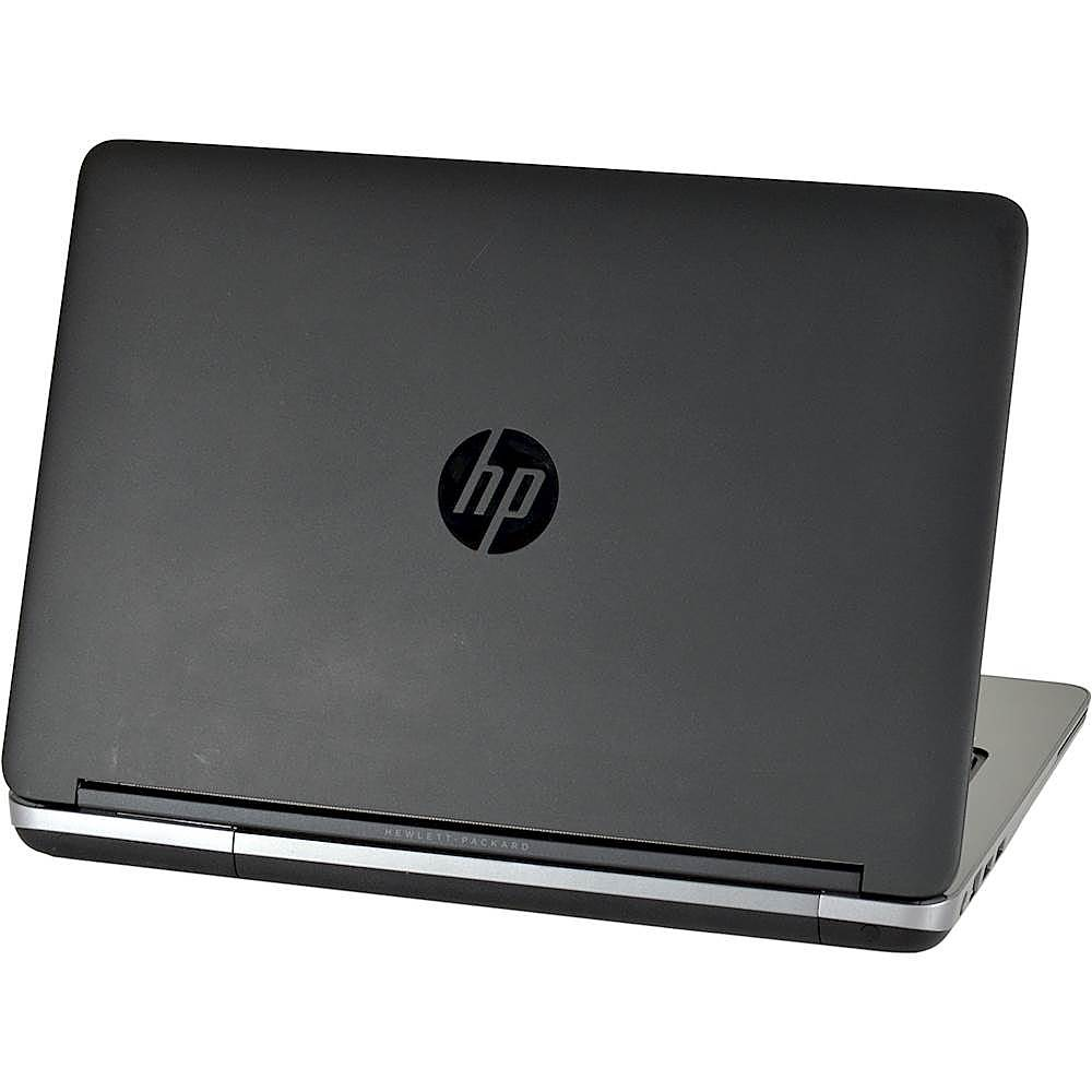 "Alt View Zoom 1. HP - ProBook 14"" Laptop - Intel Core i5 - 8GB Memory - 240GB Solid State Drive - Pre-Owned - Black."