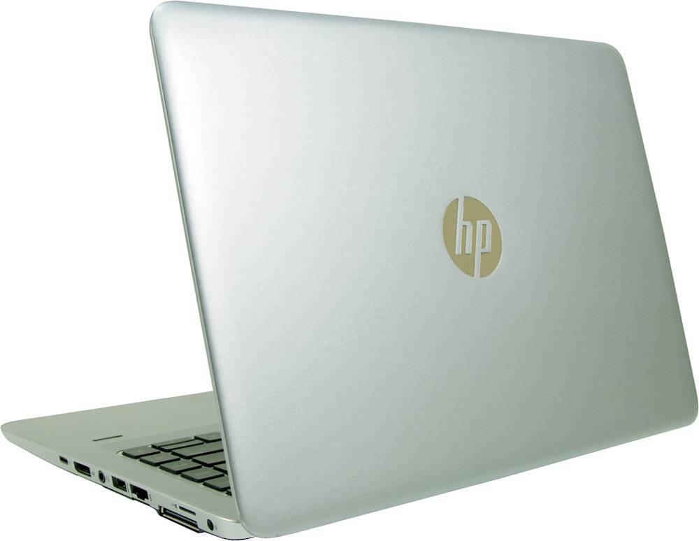 "Alt View Zoom 1. HP - EliteBook 14"" Refurbished Laptop - Intel Core i7 - 8GB Memory - 512GB SSD - Silver."
