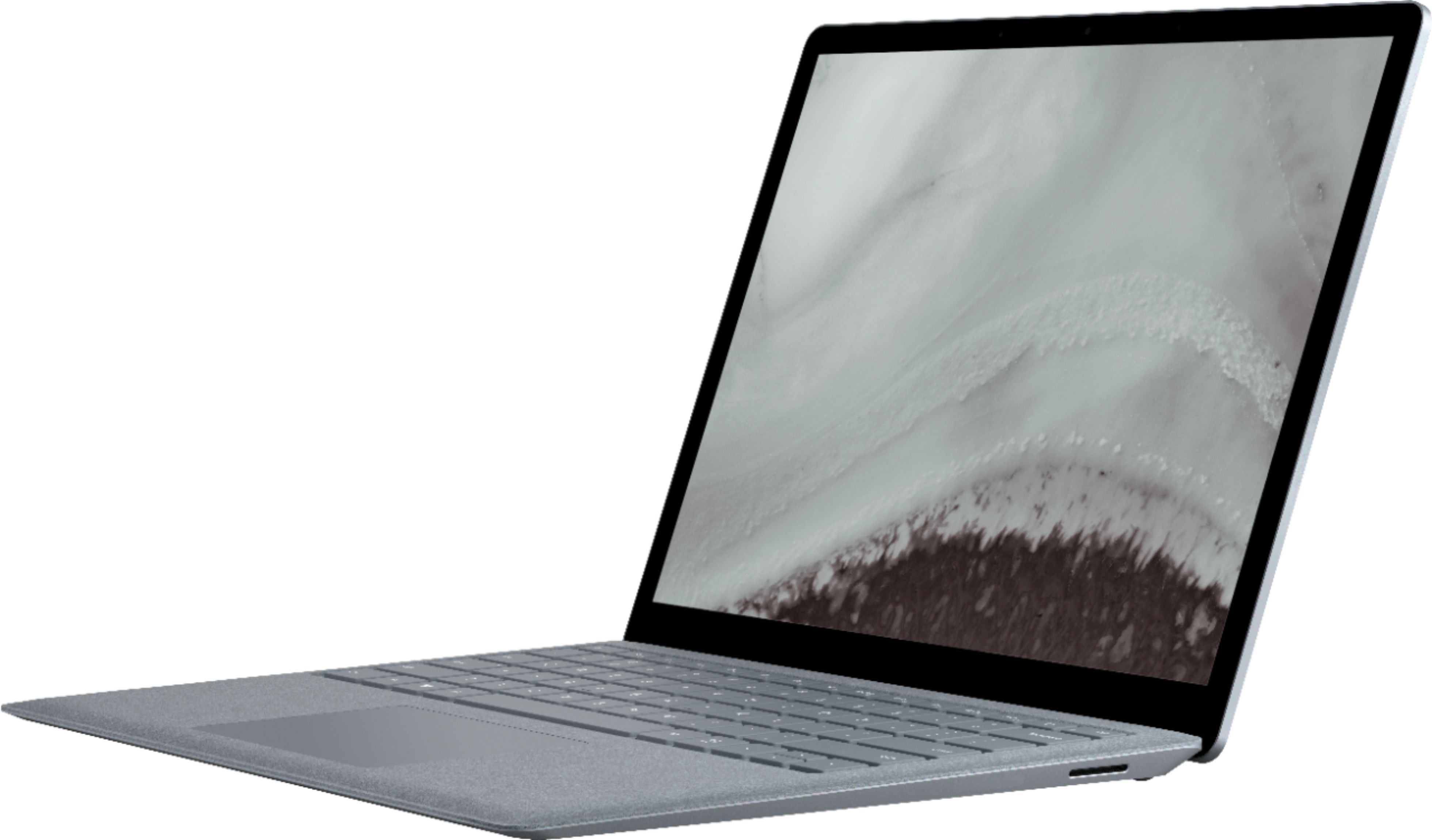 """Front Zoom. Microsoft - Geek Squad Certified Refurbished Surface Laptop 2 - 13.5"""" Touch Screen - Intel Core i5 - 8GB - 256GB SSD - Platinum."""
