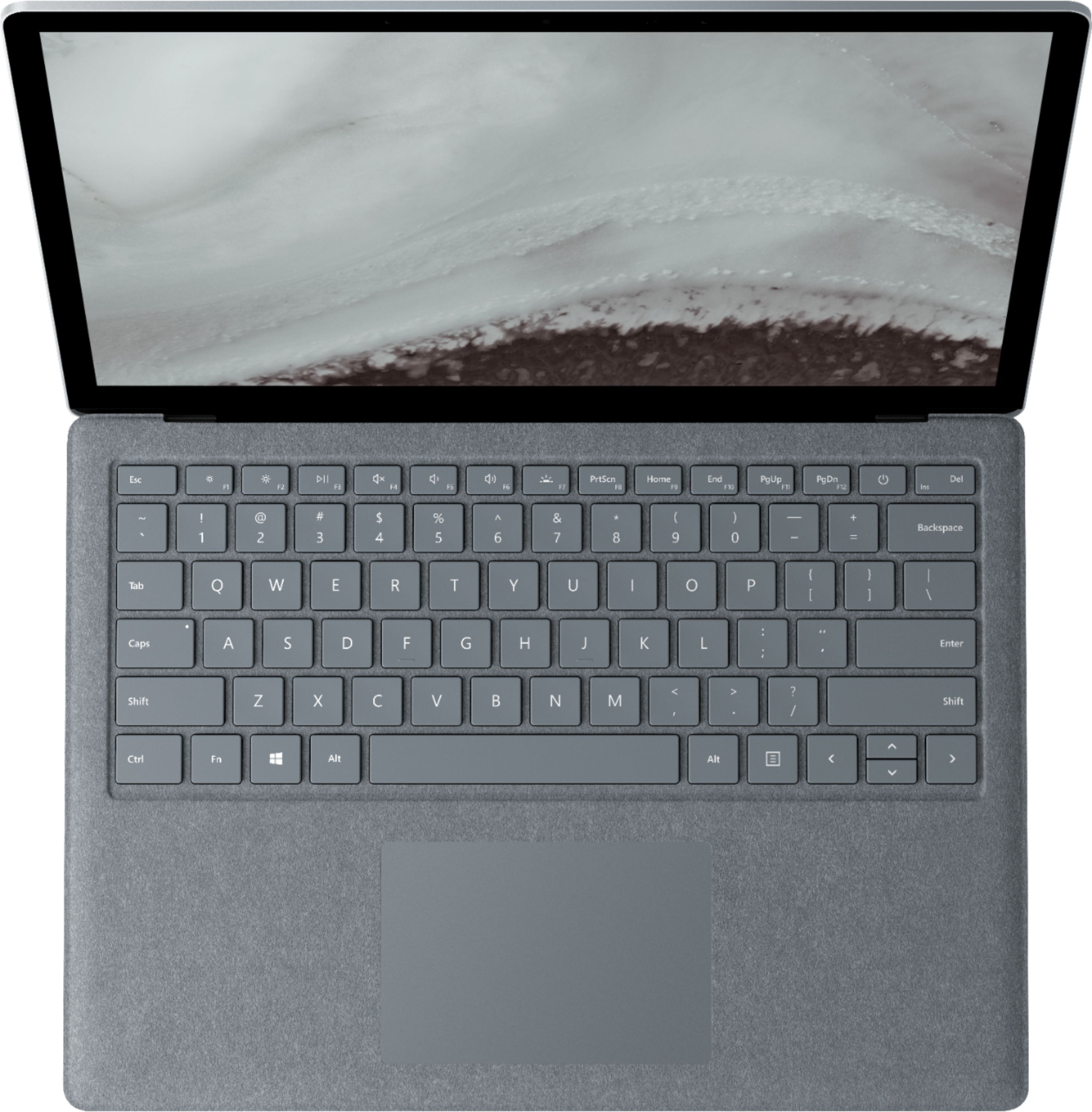 """Alt View Zoom 14. Microsoft - Geek Squad Certified Refurbished Surface Laptop 2 - 13.5"""" Touch Screen - Intel Core i5 - 8GB - 256GB SSD - Platinum."""