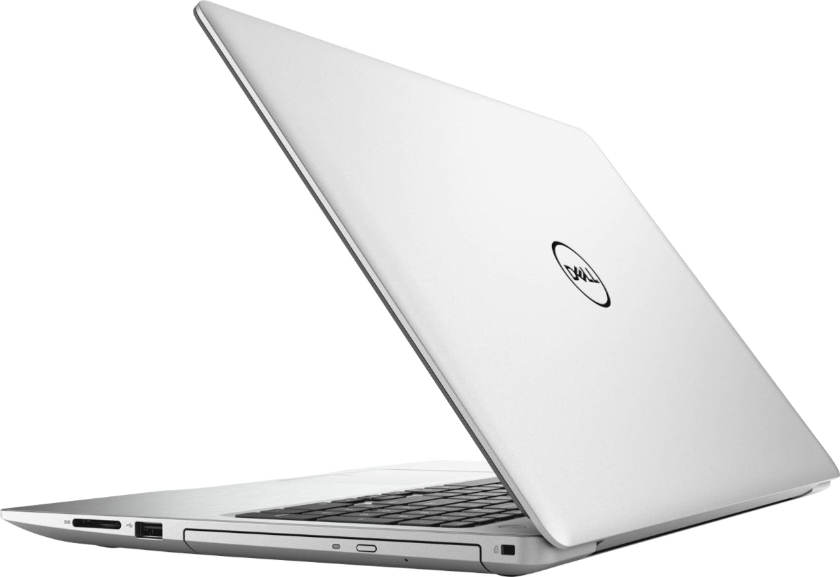"""Alt View Zoom 1. Dell - Geek Squad Certified Refurbished Inspiron 15.6"""" Touch-Screen Laptop - Intel Core i7 - 12GB Memory - 256GB SSD - Silver."""