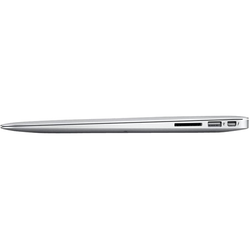 """Angle Standard. Apple - MacBook Air 13.3"""" Pre-Owned Laptop - Intel Core i5 - 2GB Memory - 64GB Hard Drive - Silver."""