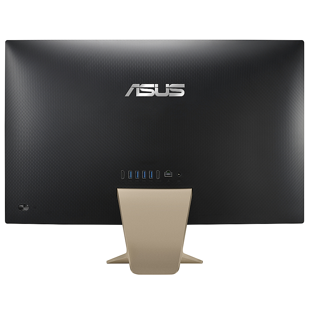 """Back Zoom. ASUS - 23.8"""" AIO Touch Screen Desktop - 8GB Memory - Ryzen 5 3500U - 512 Solid State Drive."""