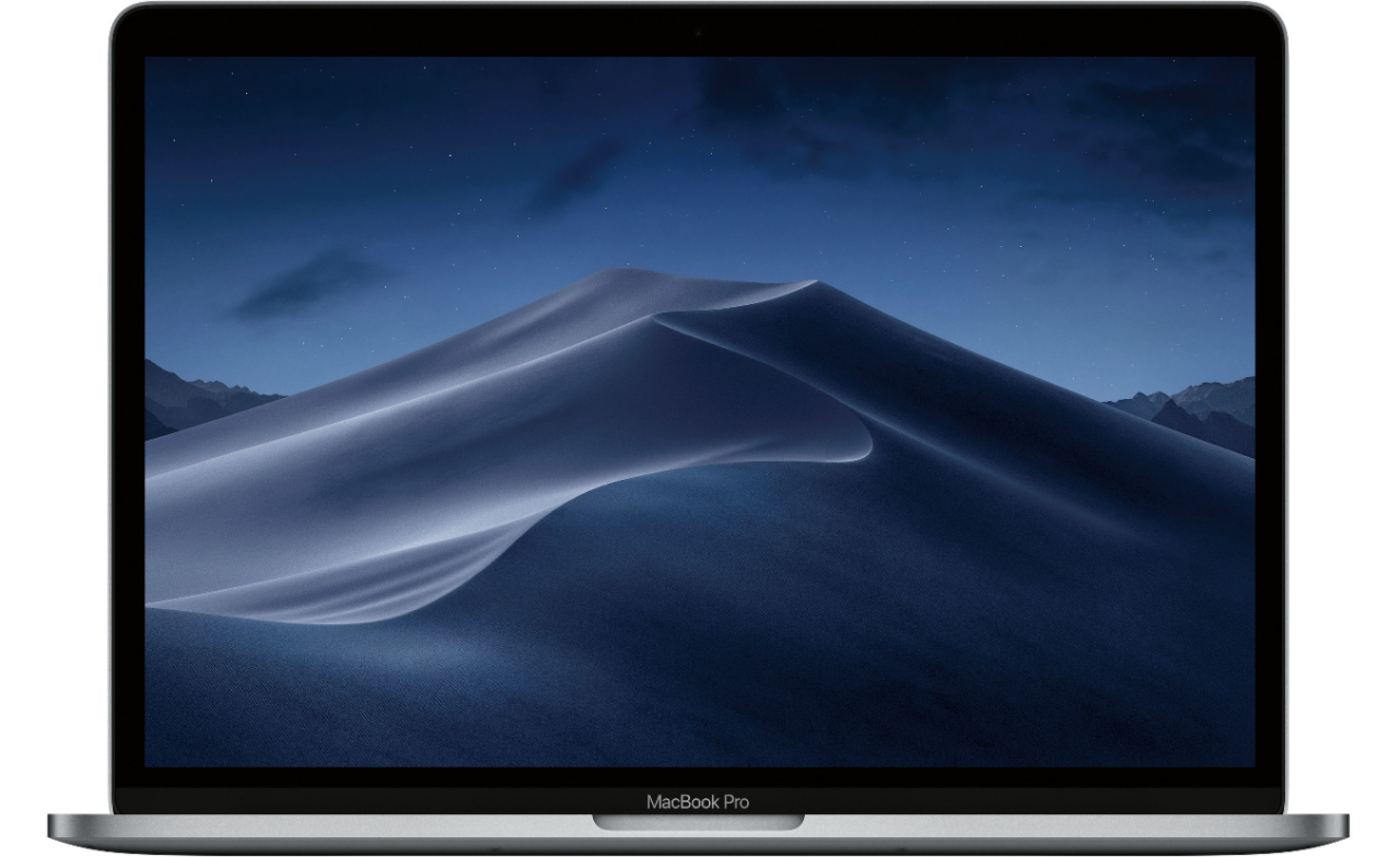 """Front Zoom. Apple - MacBook Pro 15.4"""" Display with Touch Bar - Intel Core i9 - 32GB Memory - AMD Radeon Pro 555X - 1TB SSD - Space Gray."""