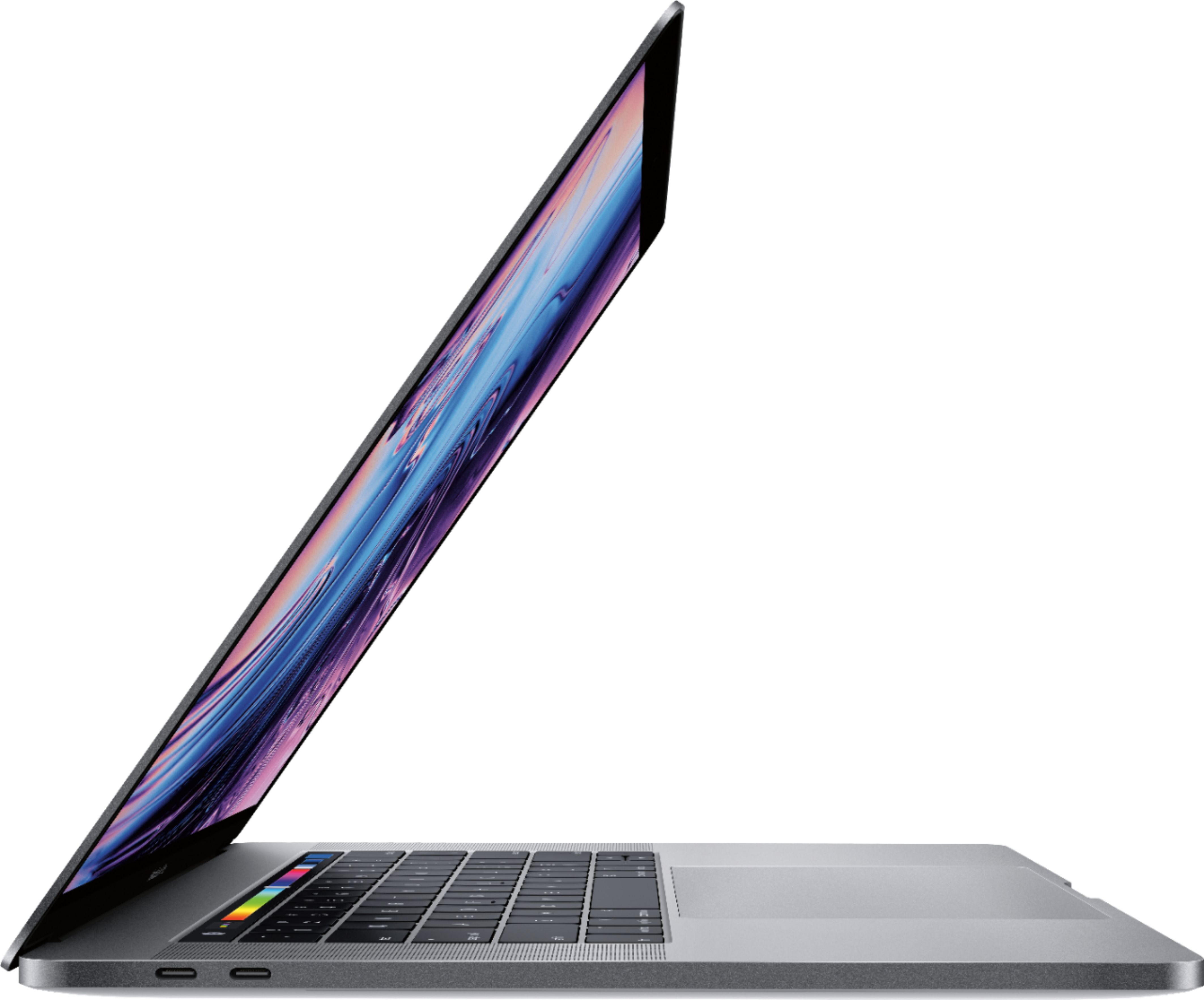 """Alt View Zoom 11. Apple - MacBook Pro 15.4"""" Display with Touch Bar - Intel Core i9 - 32GB Memory - AMD Radeon Pro 555X - 1TB SSD - Space Gray."""