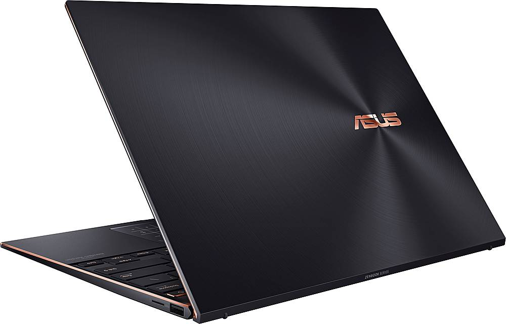"""Alt View Zoom 1. ASUS - ZenBook S 13.9"""" Touch-Screen Laptop - Intel Core i7 - 16GB Memory - 1TB Solid State Drive - Jade Black."""