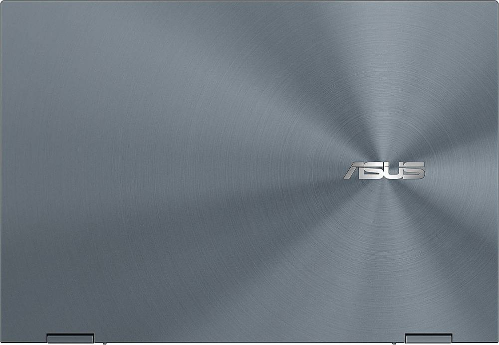 "Alt View Zoom 3. ASUS - ZenBook Flip 2-in-1 13.3"" Touch-Screen Laptop - Intel Core i7 - 16GB Memory - 512GB Solid State Drive - Pine Gray."