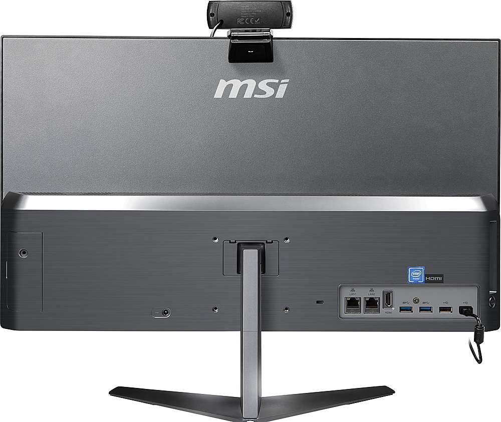 Back Zoom. MSI  PRO 24X 10M-225US All-in-One Computer-PRO24X10M225.