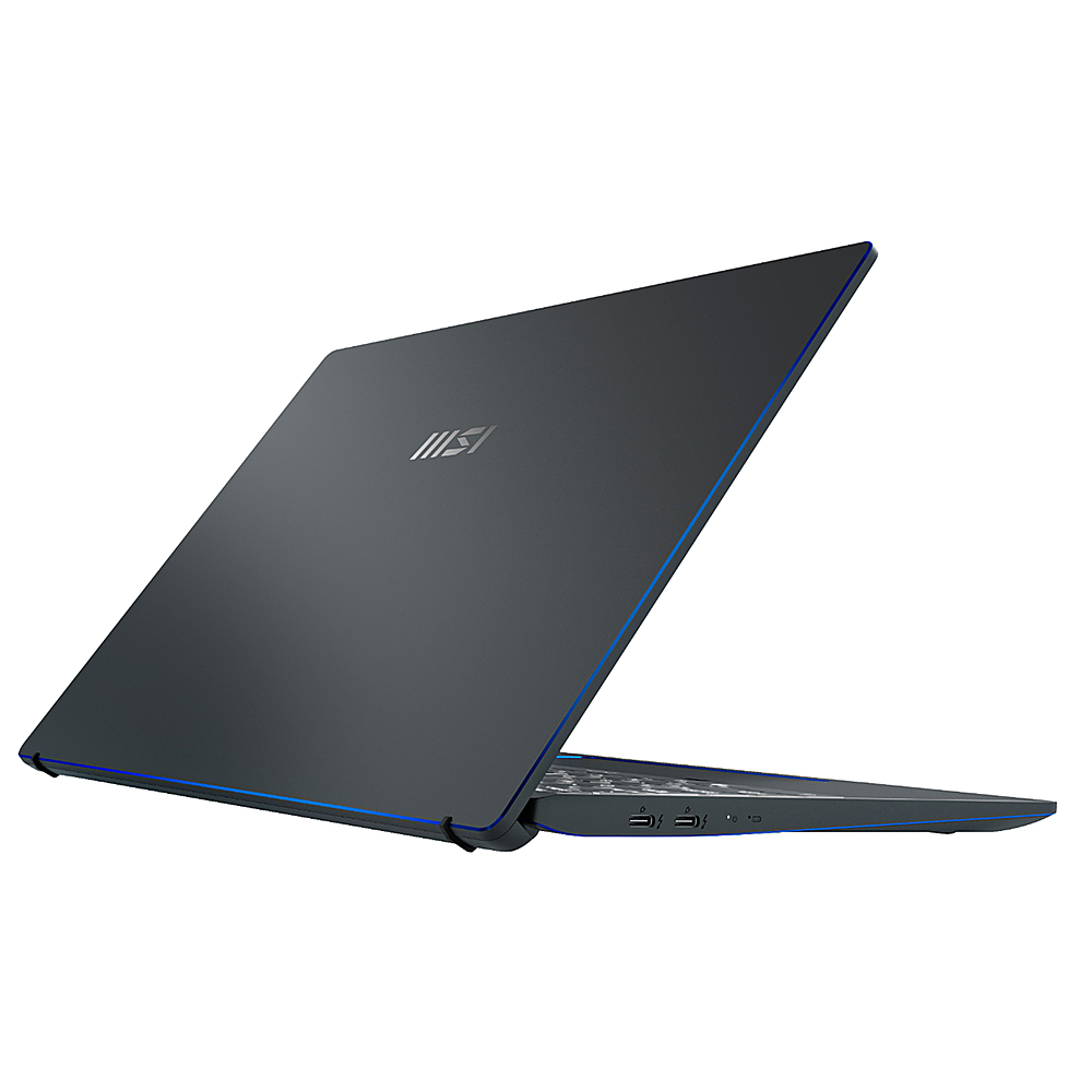 "Alt View Zoom 3. MSI - Prestige 14 EVO 14"" Notebook - i7-1185G7 16GB Intel Iris Xe Graphics 512GB SSD - Carbon Gray."