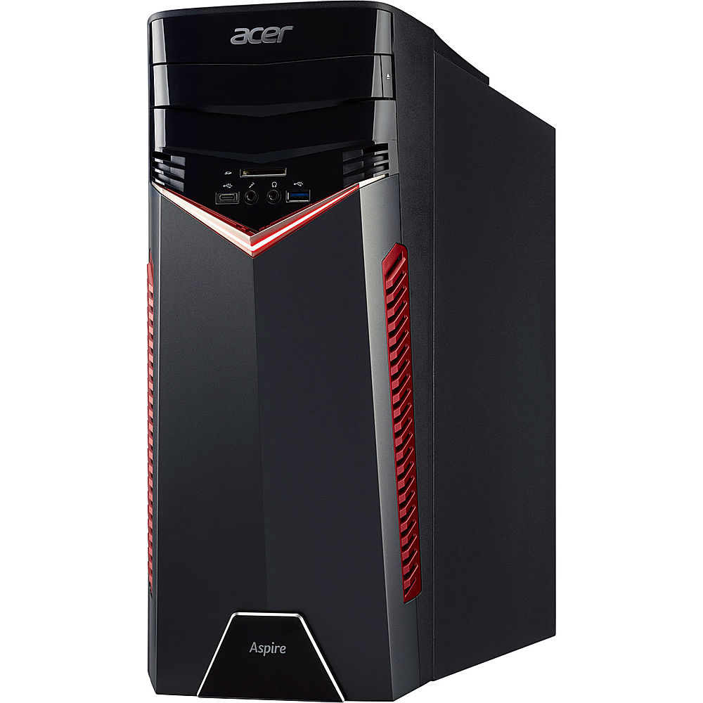 Alt View Zoom 4. Acer Aspire GX Desktop Intel Core i5 7400 3GHz 8GB Ram 1TB HDD Windows 10H - Refurbished.