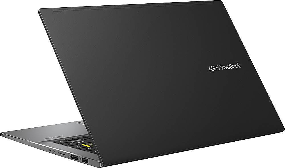 """Alt View Zoom 1. ASUS - VivoBook S14 14"""" Laptop - Intel Core i5 - 8GB Memory - 512GB Solid State Drive - Indie Black/Light Gray."""