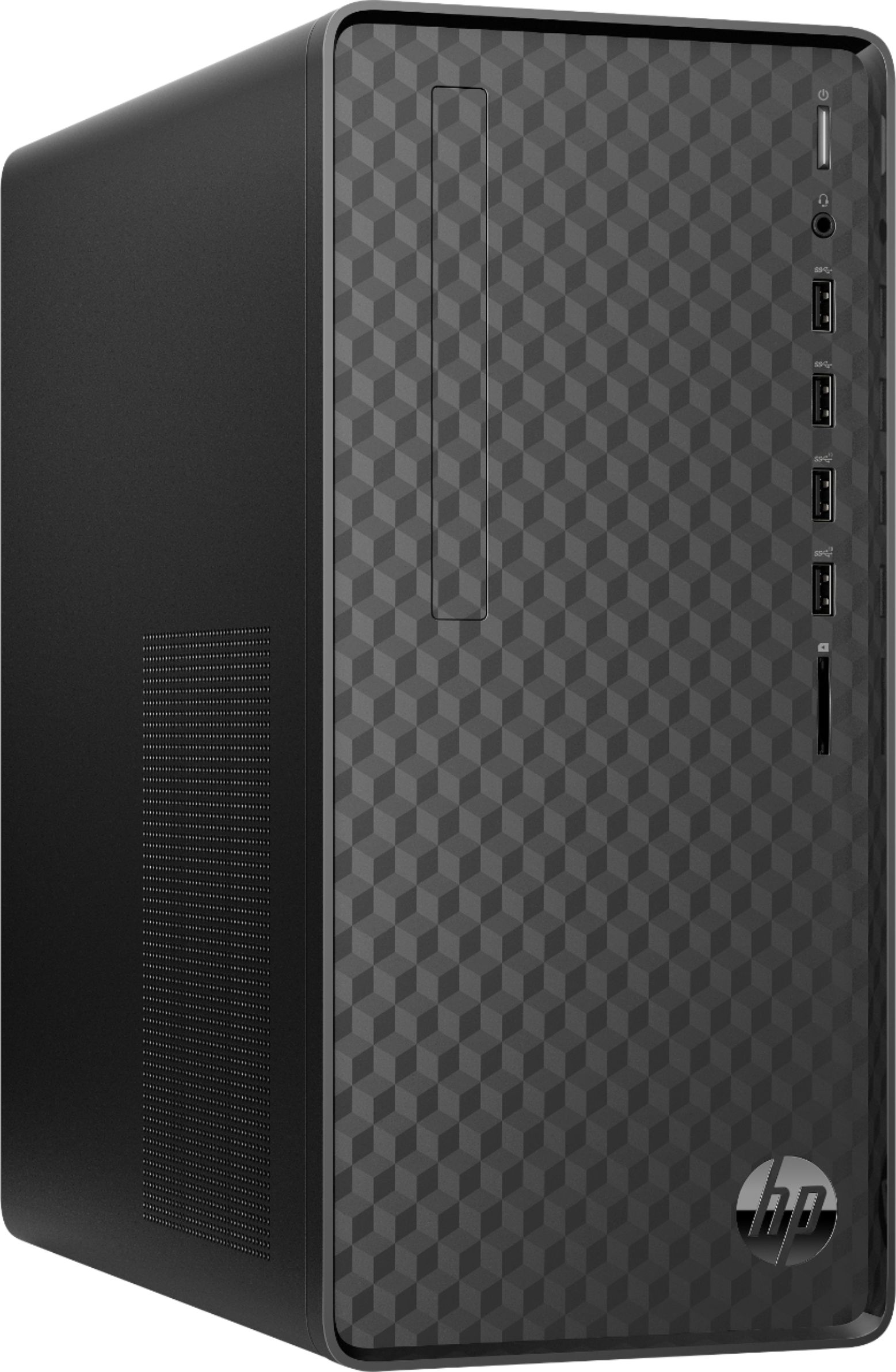 Angle Zoom. HP - Desktop - Intel core i7 - 8GB Memory - 256GB SSD - Black.