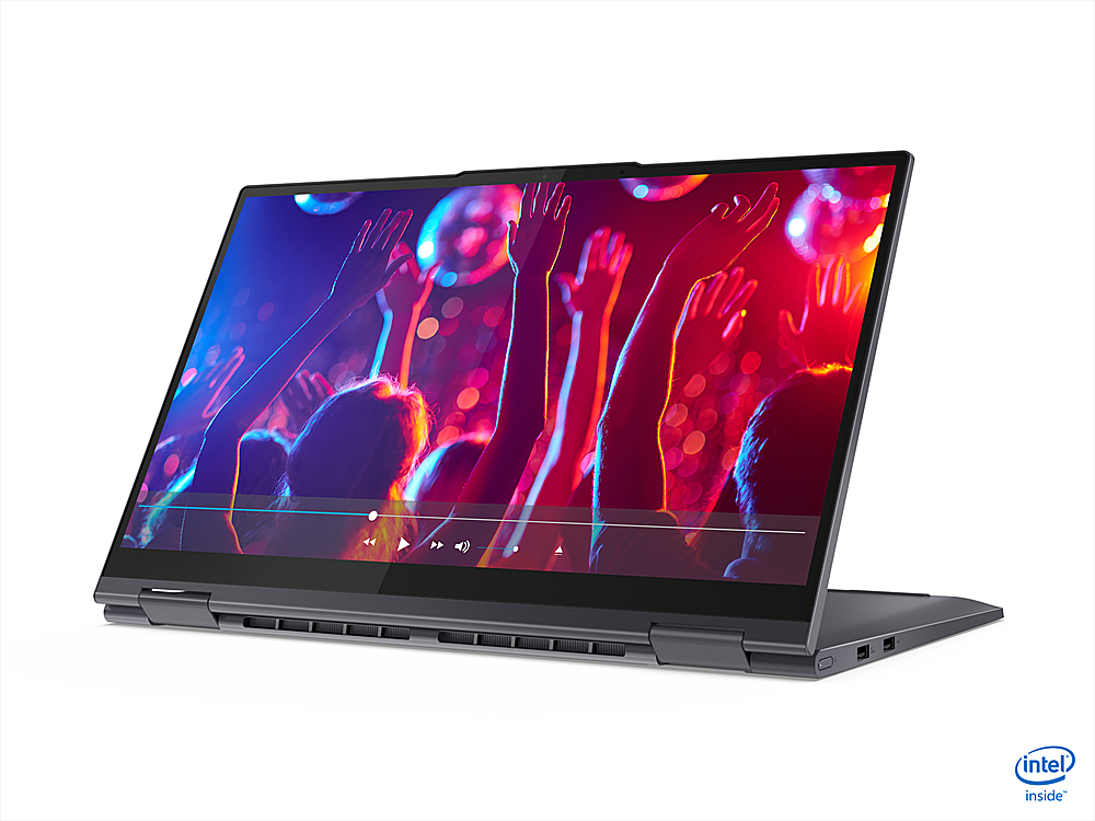"""Alt View Zoom 1. Lenovo - Yoga 7i 15 2-in-1 15.6"""" Touch Screen Laptop - Intel Core i7 - 16GB Memory - 1024GB SSD - Slate Grey."""