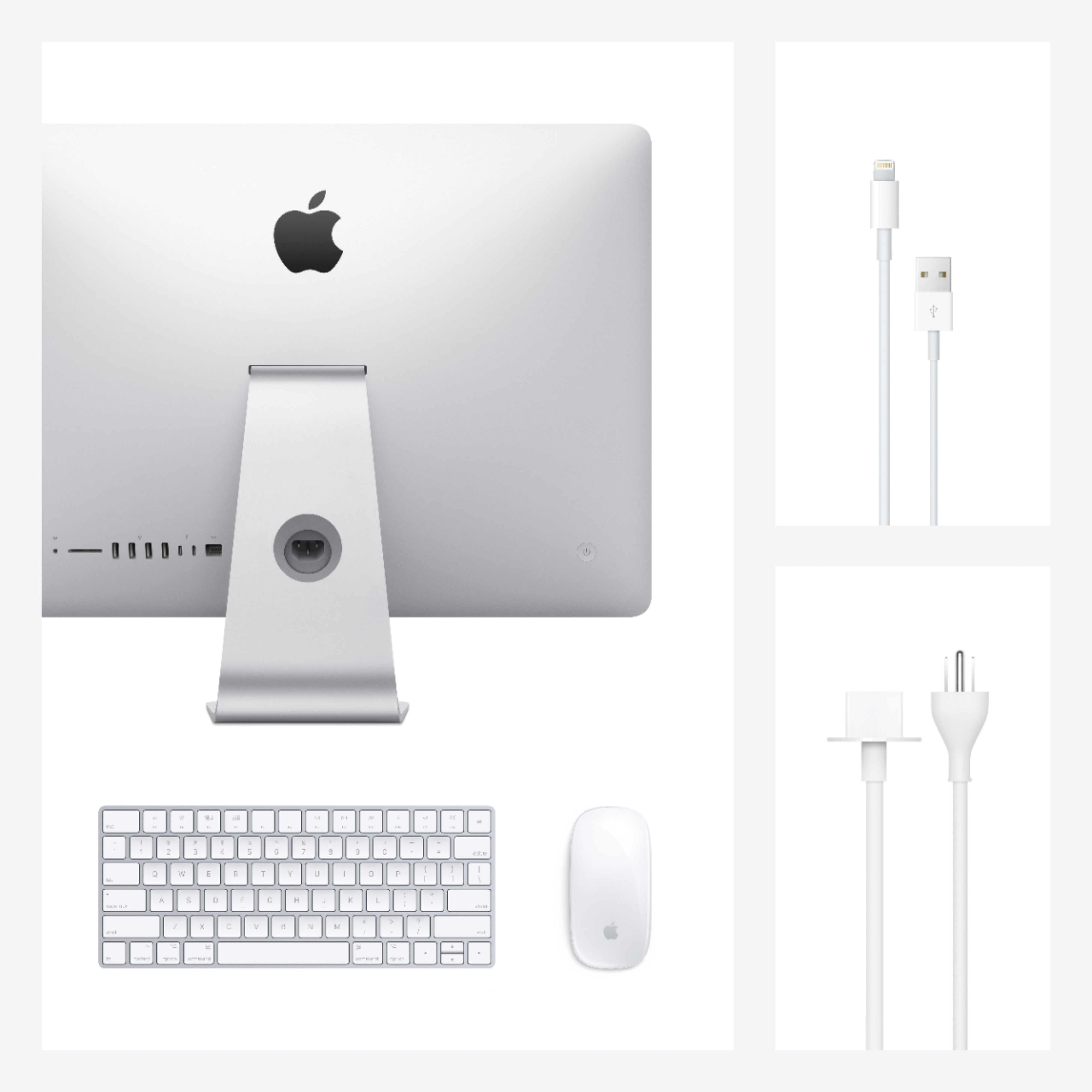 "Alt View Zoom 14. Apple - 21.5"" iMac® with Retina 4K display (Latest Model) - Intel Core i5 (3.0GHz) - 8GB Memory - 256GB SSD - Silver."
