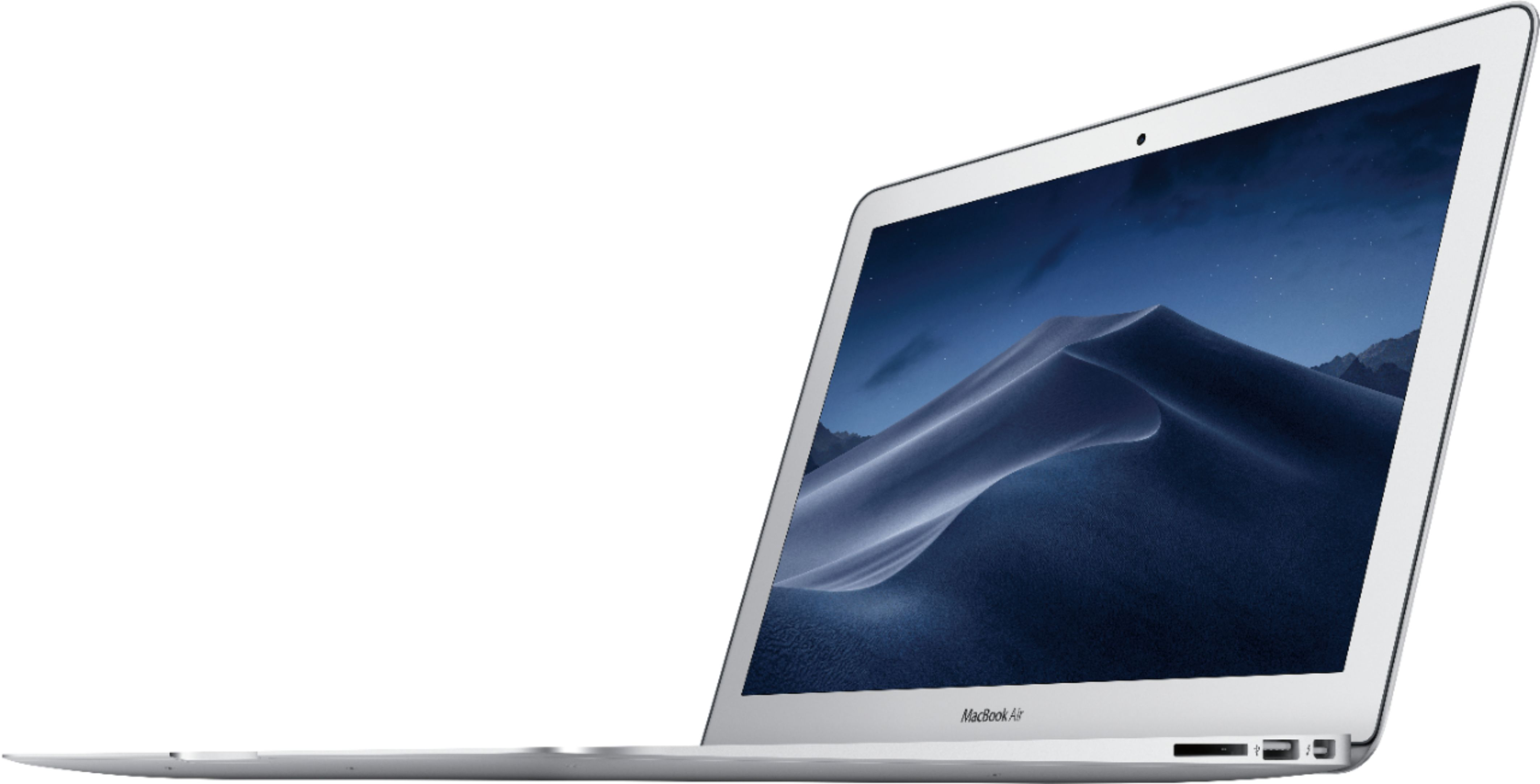 "Left Zoom. Apple - MacBook Air® - 13.3"" Display - Intel Core i5 - 8GB Memory - 512GB Solid State Drive - Silver."