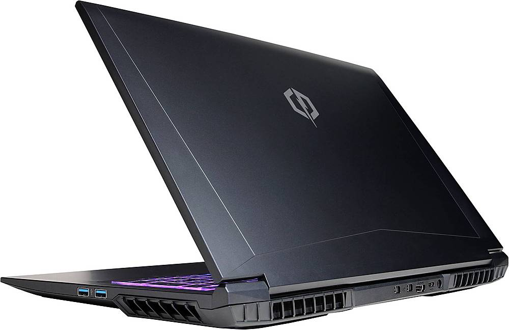 """Alt View Zoom 1. CyberPowerPC - Tracer IV Xtreme 17.3"""" Laptop - Intel Core i7 - 16GB Memory - NVIDIA GeForce RTX 2060 - 500GB Solid State Drive - Black."""