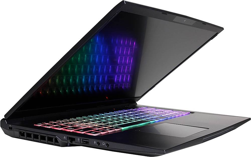 """Alt View Zoom 13. CyberPowerPC - Tracer IV Xtreme 17.3"""" Laptop - Intel Core i7 - 16GB Memory - NVIDIA GeForce RTX 2060 - 500GB Solid State Drive - Black."""