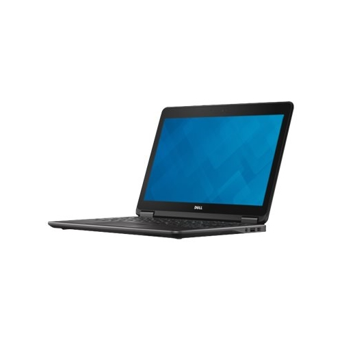 """Front Standard. Dell - Latitude 12.5"""" Refurbished Laptop - Intel Core i5 - 8GB Memory - 128GB Solid State Drive - Black."""
