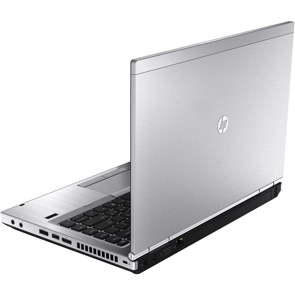 "Alt View Zoom 11. HP - EliteBook 14"" Refurbished Laptop - Intel Core i5 - 8GB Memory - 250GB Hard Drive - Silver."