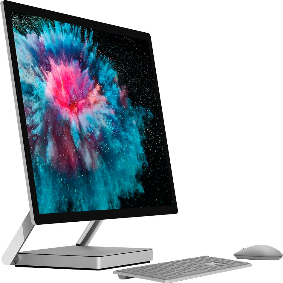 """Angle Zoom. Microsoft - Surface Studio 2 - 28"""" Touch-Screen All-In-One - Intel Core i7 - 16GB Memory - 1TB Solid State Drive (Latest Model) - Platinum."""