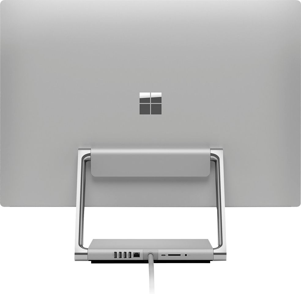 "Back Zoom. Microsoft - Surface Studio 2 - 28"" Touch-Screen All-In-One - Intel Core i7 - 16GB Memory - 1TB Solid State Drive (Latest Model) - Platinum."