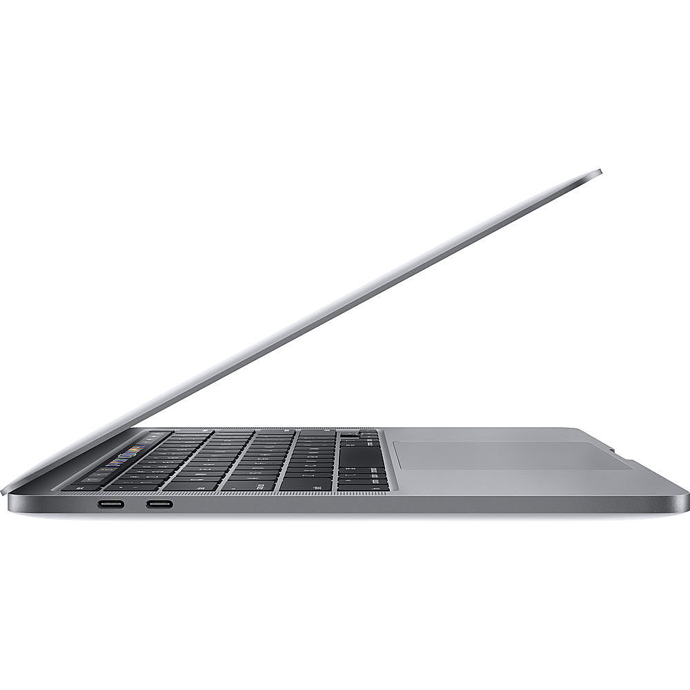 """Left Zoom. Apple - MacBook Pro 13"""" Pre-Owned - Core i5 - 8GB Memory - 128GB Solid State Drive - Space Gray."""