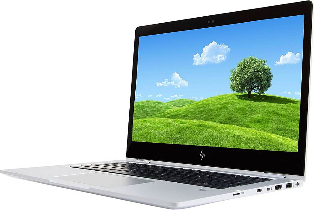 """Left Zoom. HP - Refurbished EliteBook x360 1030 G2 13.3"""" Touch-Screen Laptop - Intel Core i7 - 8GB Memory - 512GB Solid State Drive."""