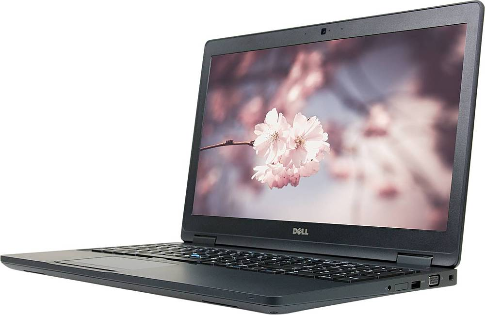 """Left Zoom. Dell - Refurbished Latitude 5580 15.6"""" Laptop - Intel Core i5 - 16GB Memory - 512GB Solid State Drive."""