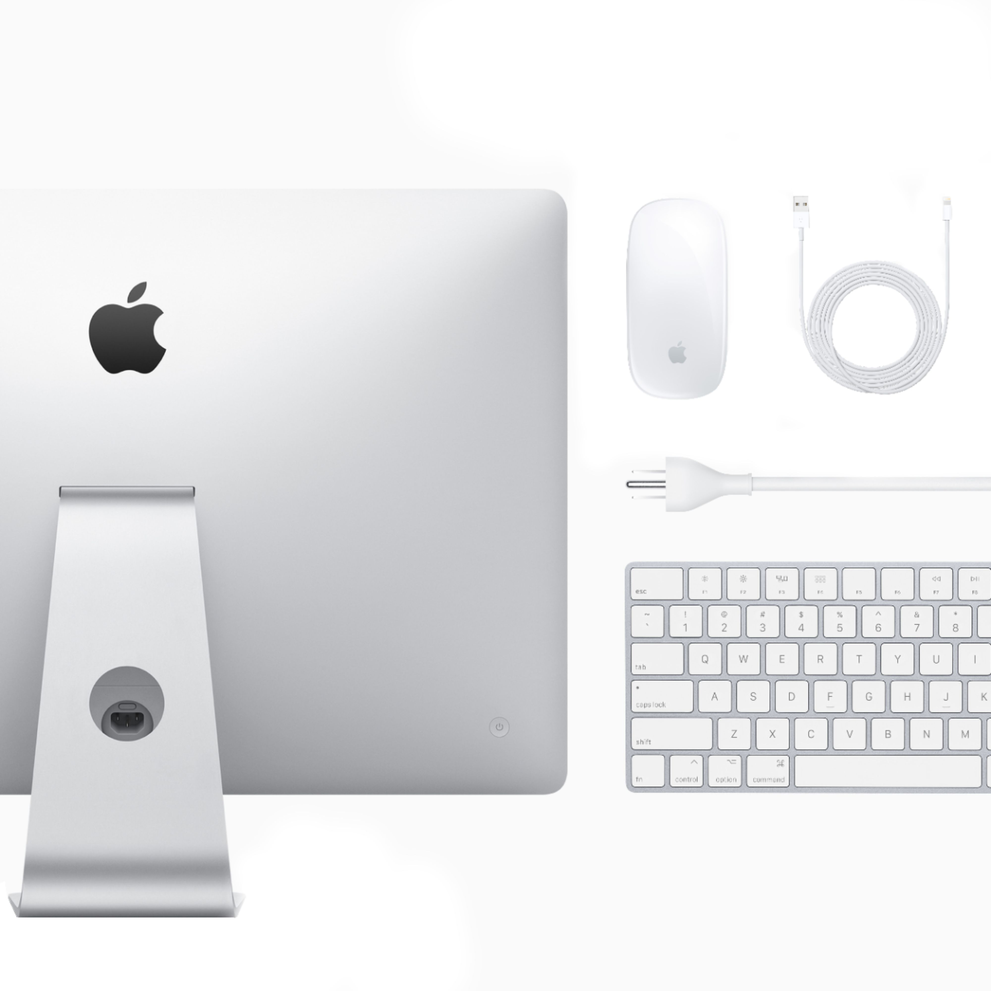 "Alt View Zoom 13. Apple - 27"" iMac® with Retina 5k display - Intel Core i5 (3.1GHz) - 8GB Memory - 1TB Fusion Drive - Silver."