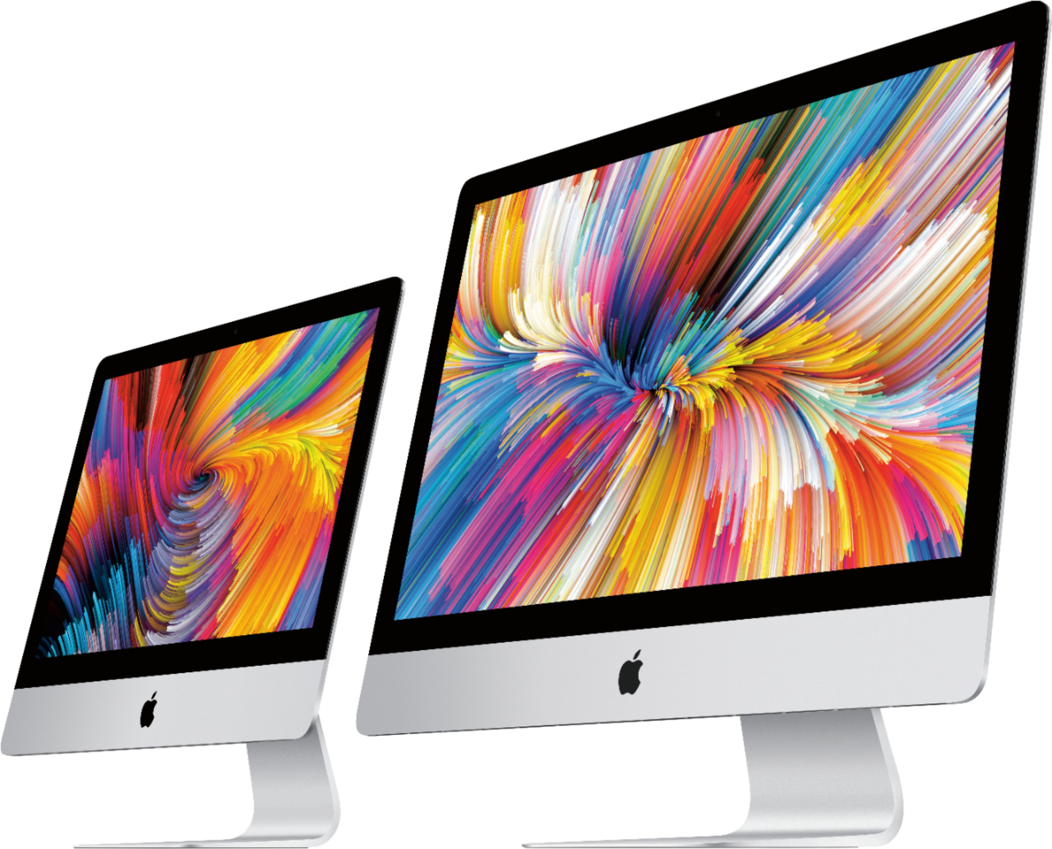 "Alt View Zoom 14. Apple - 27"" iMac® with Retina 5k display - Intel Core i5 (3.1GHz) - 8GB Memory - 1TB Fusion Drive - Silver."