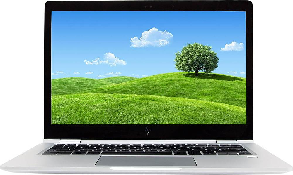 """Front Zoom. HP - Refurbished EliteBook x360 1030 G2 13.3"""" Touch-Screen Laptop - Intel Core i5 - 8GB Memory - 512GB Solid State Drive."""