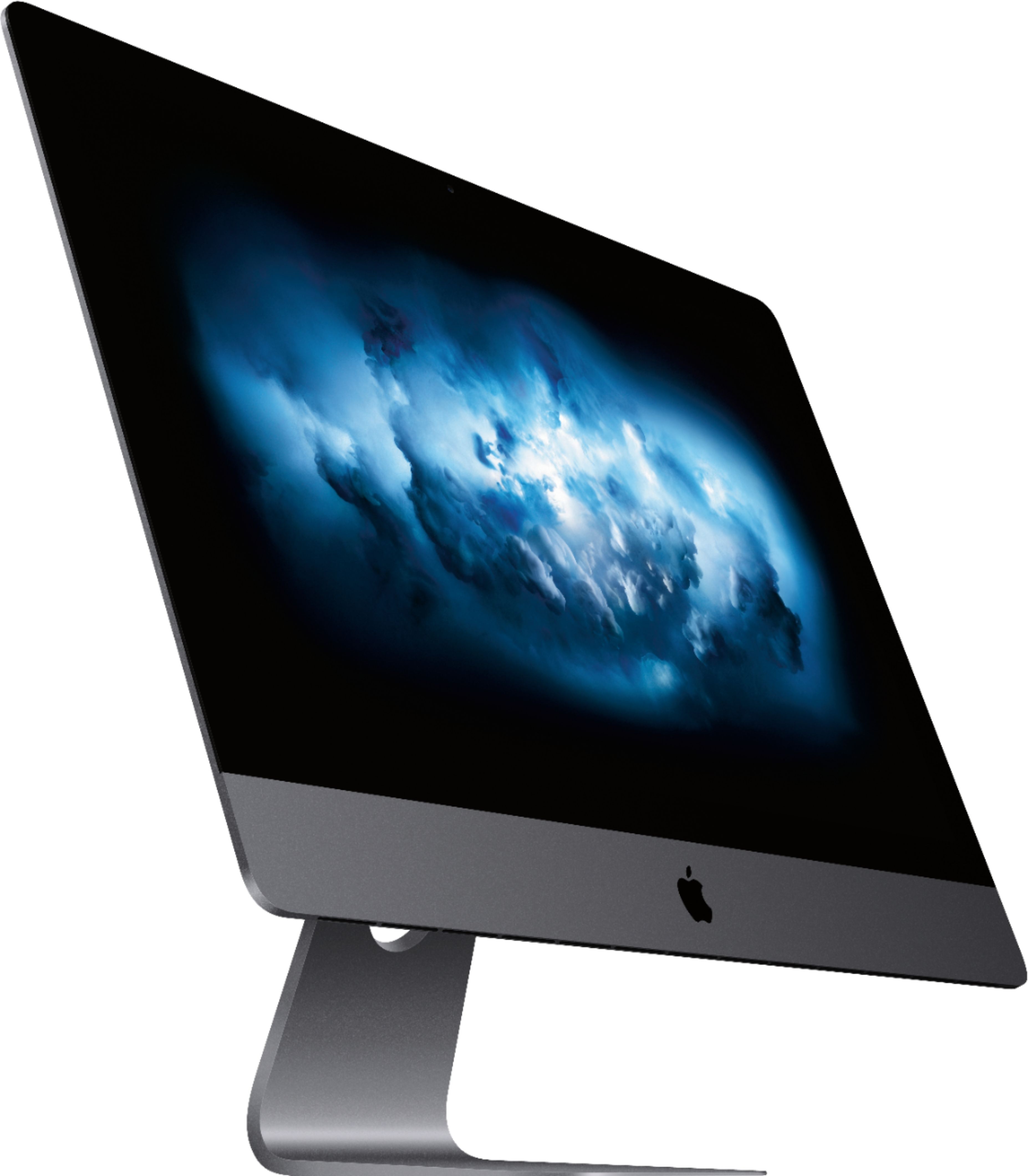 "Angle Zoom. Apple - 27"" iMac Pro with Retina 5K display - Intel Xeon W - 32GB Memory - 1TB Solid State Drive - Black."
