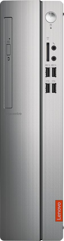 Alt View Zoom 11. Lenovo - IdeaCentre 310S Desktop - AMD A9-Series - 4GB Memory - 1TB Hard Drive - Silver.