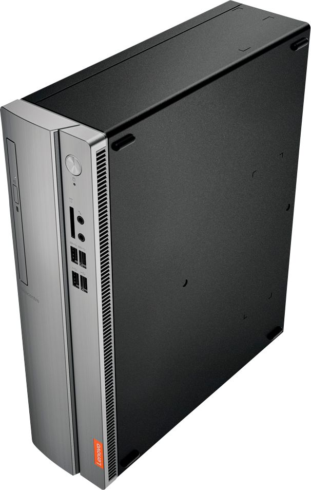 Alt View Zoom 12. Lenovo - IdeaCentre 310S Desktop - AMD A9-Series - 4GB Memory - 1TB Hard Drive - Silver.