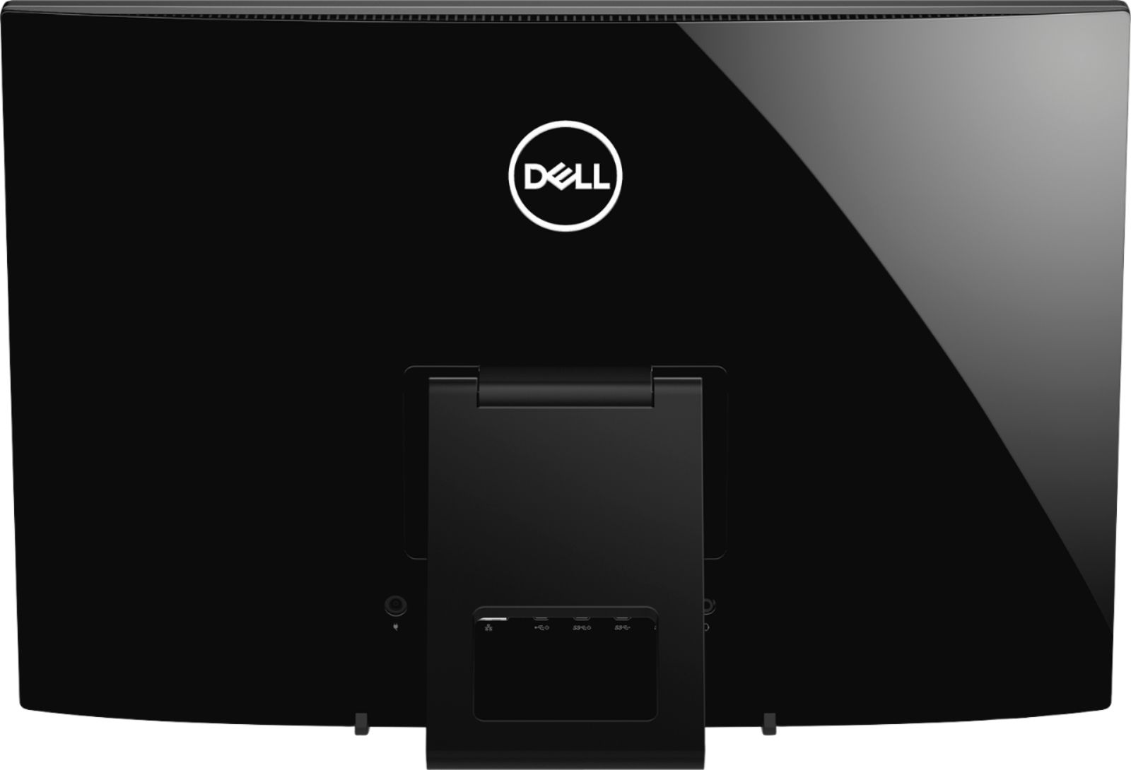 """Back Zoom. Dell - Inspiron 21.5"""" Touch-Screen All-In-One - AMD A6-Series - 4GB Memory - 1TB Hard Drive - Black."""