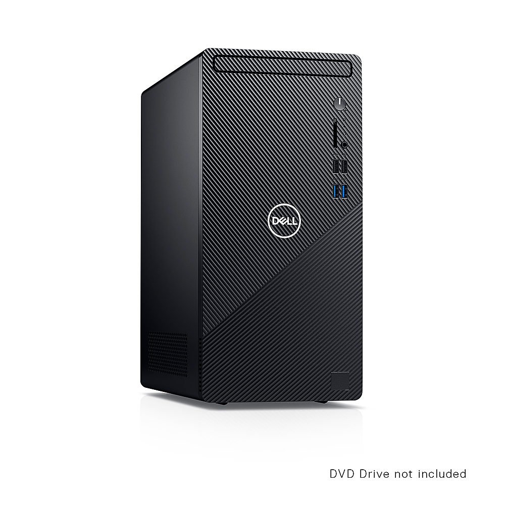 Alt View Zoom 2. Dell - Inspiron 3000 Desktop - Intel Core i5-10400 - 12GB RAM - 1TB HDD - Win10 Pro - Ethernet+WiFi+Bluetooth - keyboard+mouse - Black.