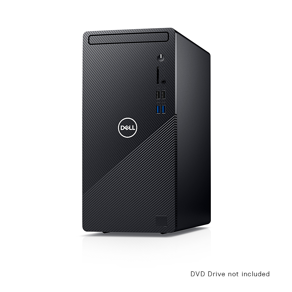 Alt View Zoom 4. Dell - Inspiron 3000 Desktop - Intel Core i5-10400 - 12GB RAM - 1TB HDD - Win10 Pro - Ethernet+WiFi+Bluetooth - keyboard+mouse - Black.