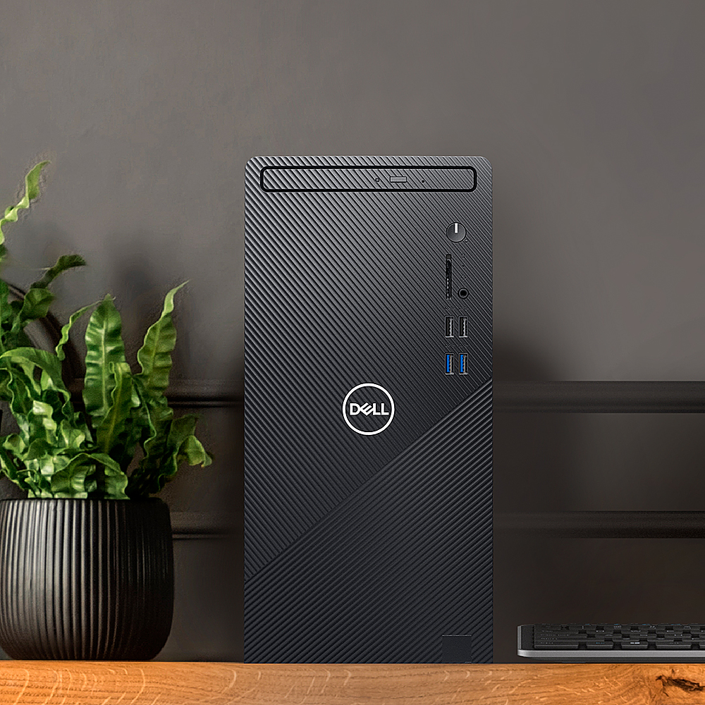 Alt View Zoom 13. Dell - Inspiron 3000 Desktop - Intel Core i5-10400 - 12GB RAM - 1TB HDD - Win10 Pro - Ethernet+WiFi+Bluetooth - keyboard+mouse - Black.