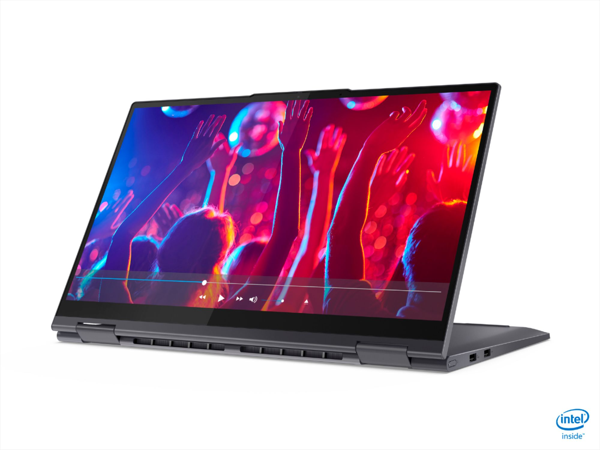 """Alt View Zoom 1. Lenovo - Yoga 7i 2-in-1 15.6"""" Touch Screen Laptop - Intel Core i5 - 8GB Memory - 256GB Solid State Drive - Slate Grey."""