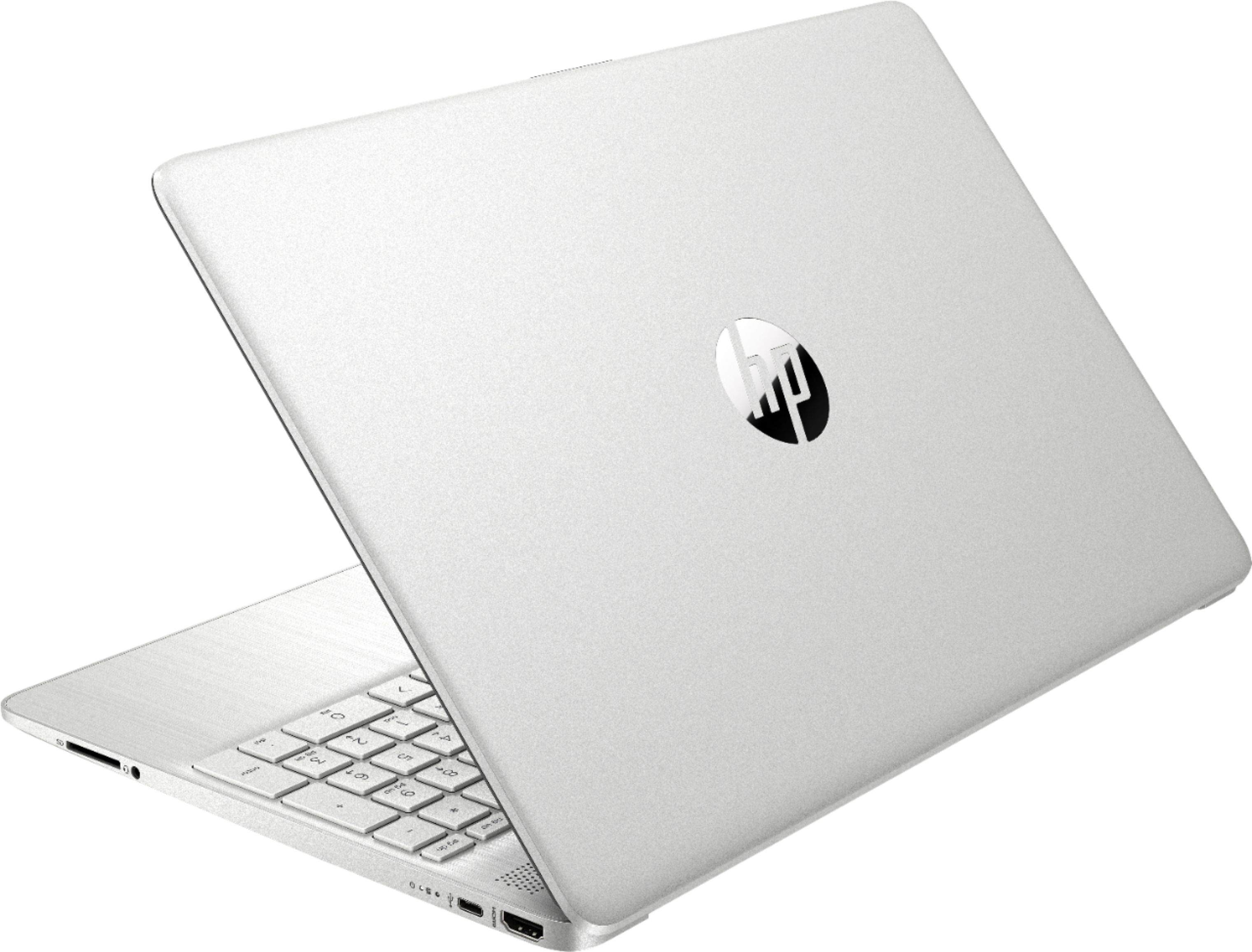 "Alt View Zoom 1. HP - 15.6"" Touch-Screen Laptop - Intel Core i5 - 12GB Memory - 256GB SSD - Natural Silver."