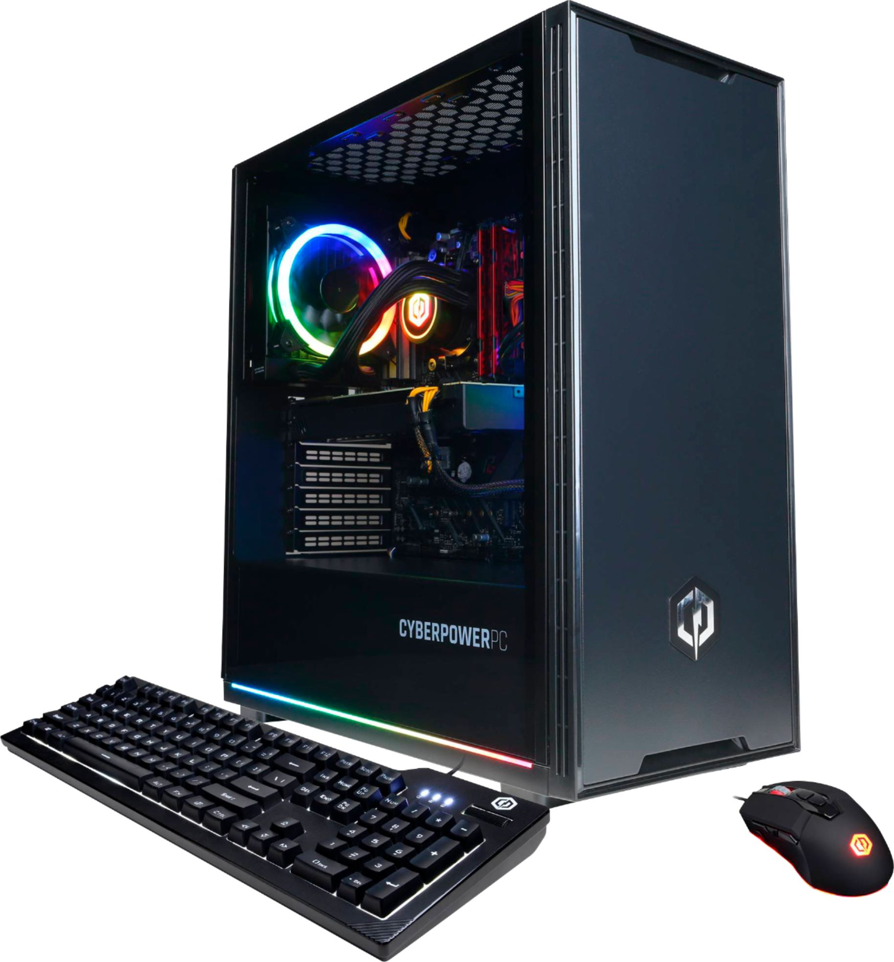 Angle Zoom. CyberPowerPC - Gamer Supreme Gaming Desktop - AMD Ryzen 9 3900X - 16GB Memory - NVIDIA GeForce RTX 3080 - 1TB SSD - Black.