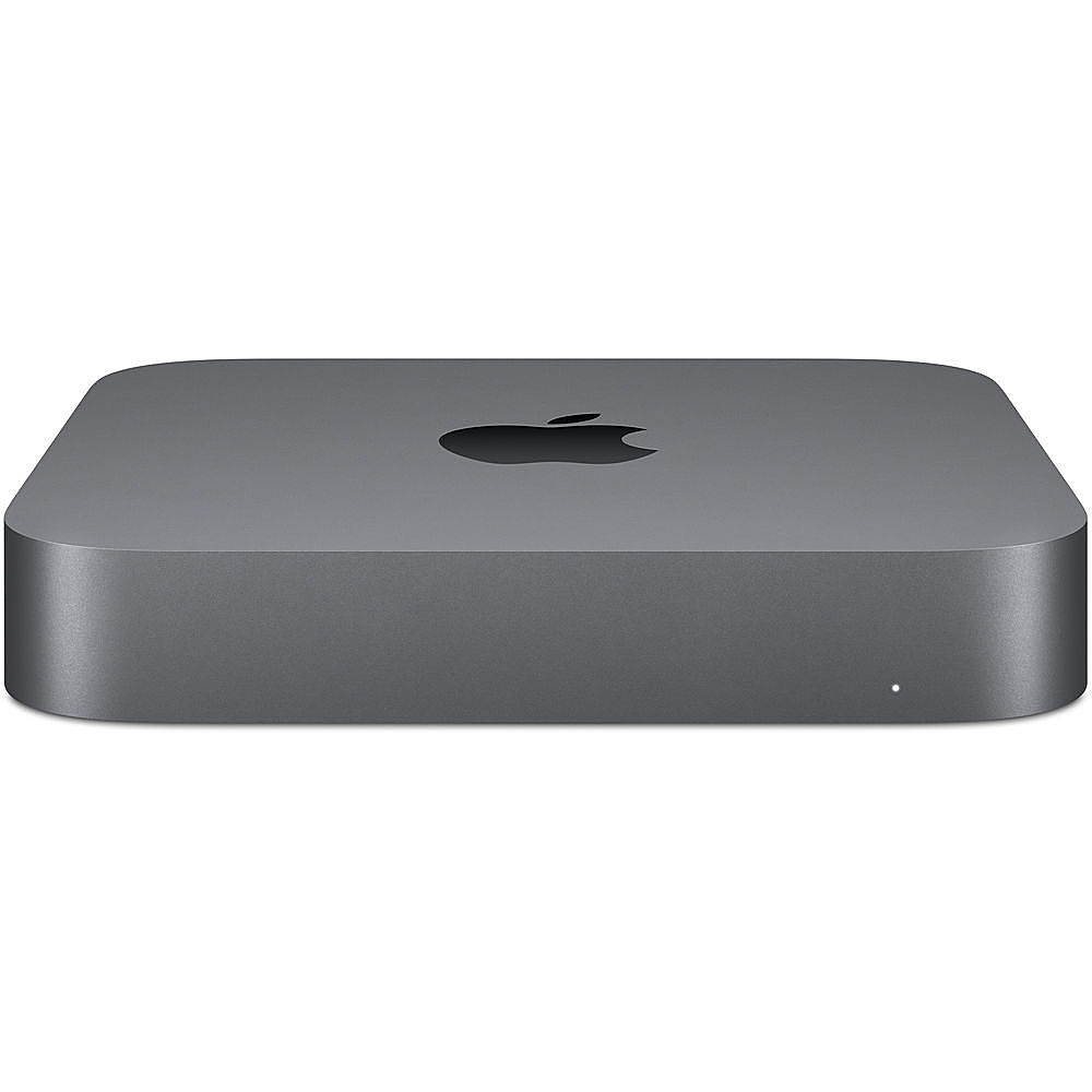 Front Zoom. Apple - Mac mini Desktop - Intel Core i3 - 8GB Memory - 128GB HDD - Pre-Owned - Gray.